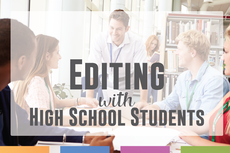 Editing student with teenagers - some tricks and ideas to make editing papers meaningful.