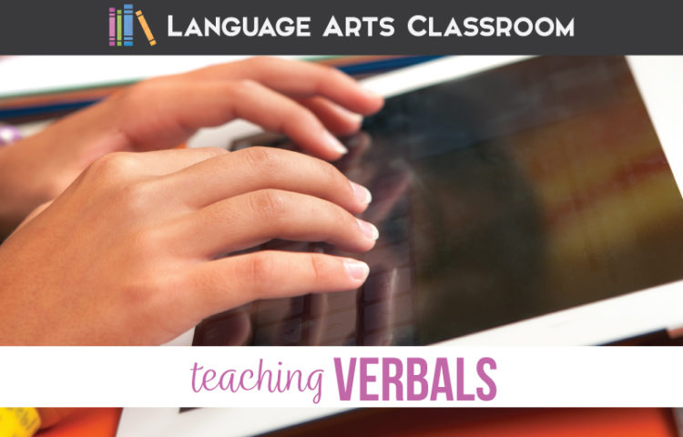 Verbal phrases worksheets and verbal phrases lesson plans will engage middle school language arts classes.