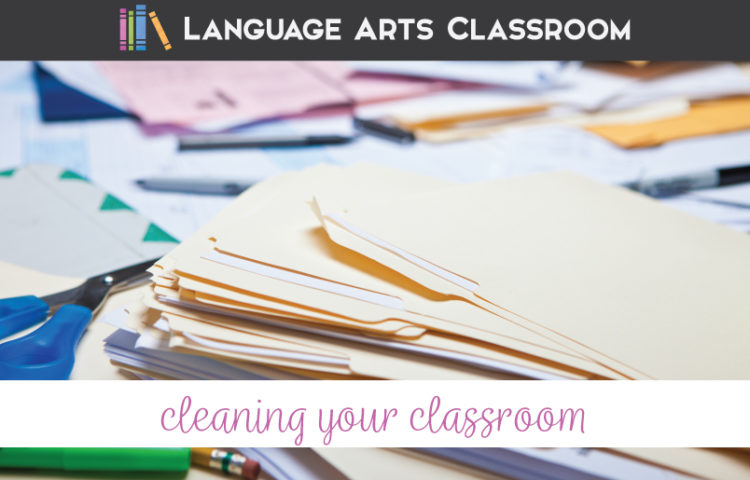 Clean classroom at the end of the year? Tidy up your classroom so you can return in the fall to an orderly and calm atmosphere. Included is an end of year classroom clean up list. Clean up your classroom and purge your life of unnecessary clutter.