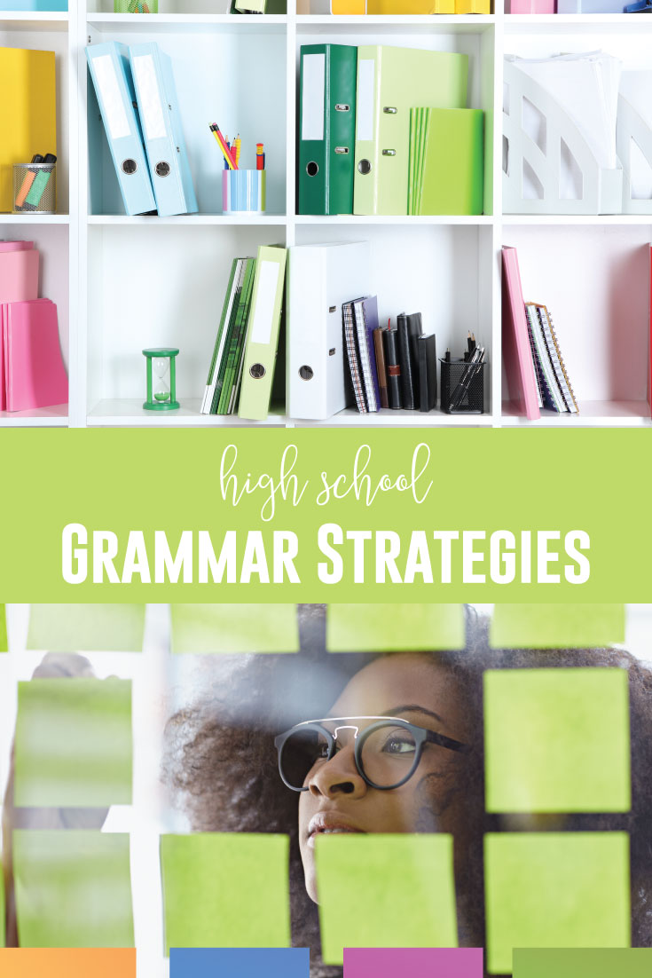 Strategies for teaching grammar in high school must include scaffolding. ELA scaffolding might be a natural part of language arts classes, but what about grammar activities? Scaffolding sentence structure, for example, can encourage the connection between grammar and writing. Strategies for teaching grammar in high school must include ELA scaffolding.