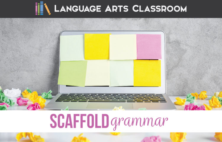 Scaffolding grammar, scaffolding sentence structure, and scaffolding options for language arts are important parts of English classes. ELA scaffolding can help language arts classes.