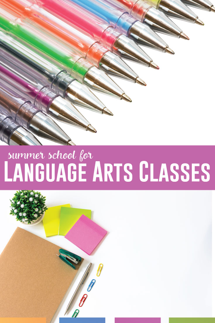 Language arts summer school: what are you teaching? English summer school can be engaging and meet standards. #SummerSchool #LanguageArts
