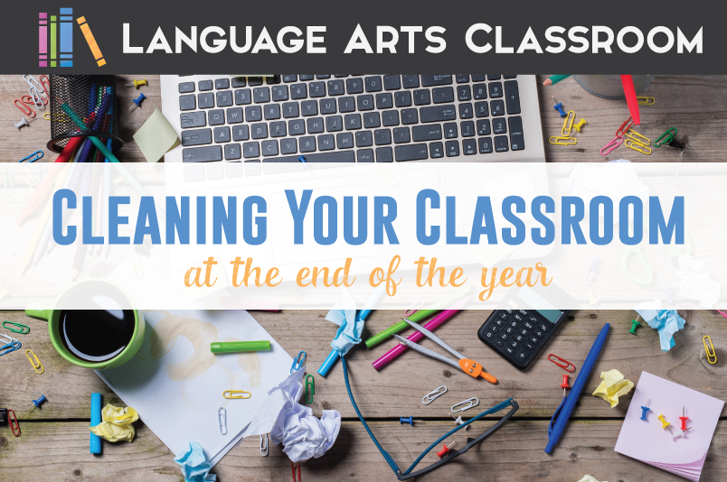 You probably realize that you should clean your classroom at the end of the year, but starting is another story. Follow these tips to clean your classroom at the end of the school year.