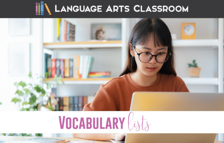 Download a free vocabulary list for secondary students! How to create a vocabulary list with meaning? Try these approaches for connecting vocabulary to grammar and literature with secondary students.