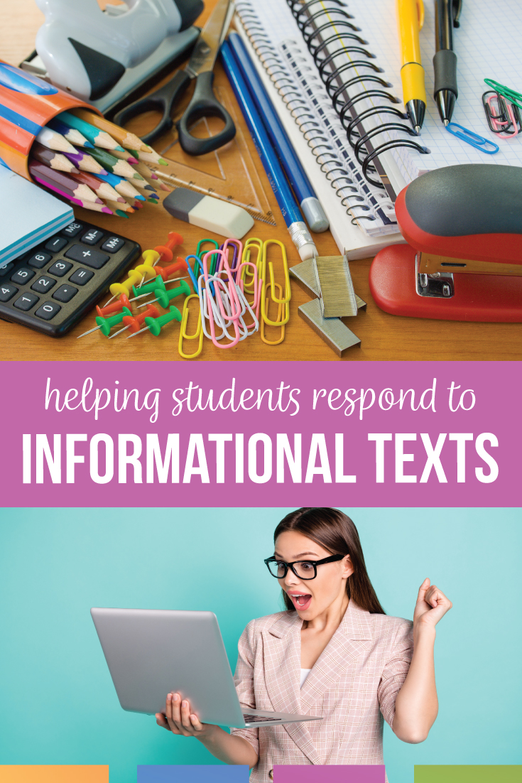 Informational texts for secondary students should engage them & prompt high school ELA students to respnd. Make your informational text unit pop with a variety of nonfictional articles. Informational articles for high school are available online for free. Build nonfiction activities for high school into English classes. Download a free informational text example for high school in PDF form. Information text examples for high school should model thinking & proper responses to informational texts.
