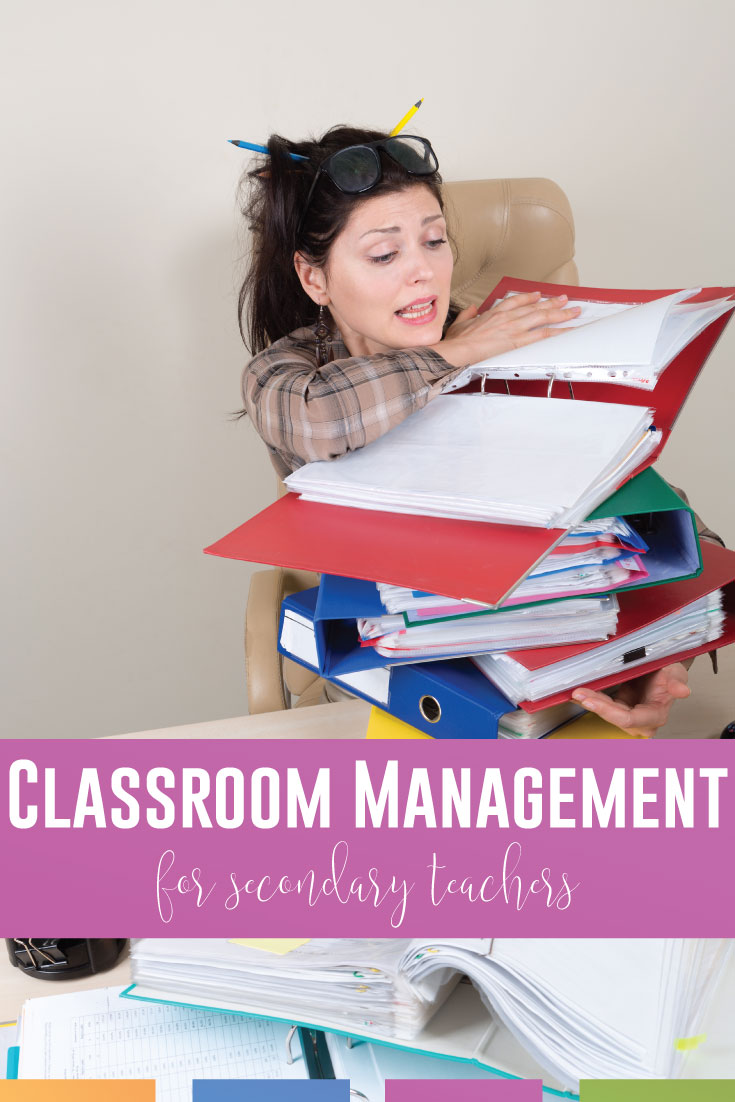 Classroom management for secondary teachers: practical ideas are here. If you need classroom management strategies, these five classroom issues will help. Classroom management for high school requires balance and organization.
