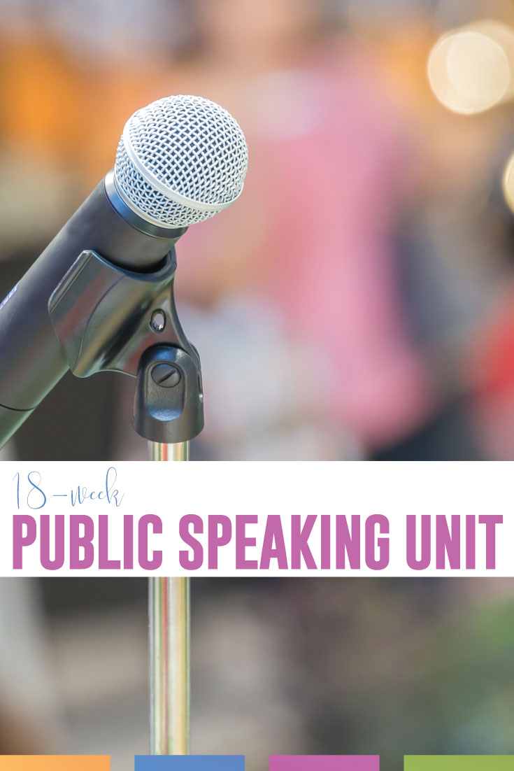 Download these public speaking lesson plans PDF for implementation into your public speaking unit. Teaching public speaking will engage secondary ELA students. If you're looking for how to teach public speaking, follow this outline.