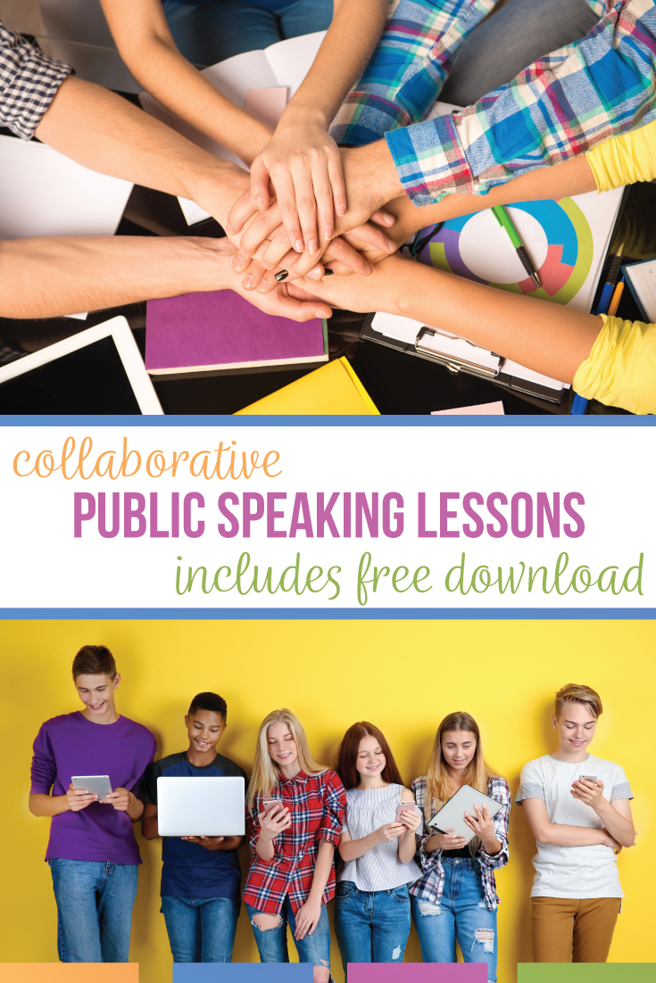 If you are looking for how to teach speech, check out these public speaking lesson plans. Add these high school public speaking lesson plans to your speech class. Teaching public speaking can be difficult but with this free public speaking lesson plans PDF, you'll have interactive speech activities. Speech lessons should provide practice & interaction for middle school speech & high school speech classes. A speech unit should contain scaffolded public speaking activities & speech lesson plans.