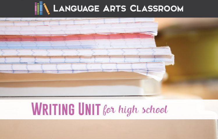 A successful writing unit for high school students should have ample scaffolding, multiple rubrics, and various graphic organizers.