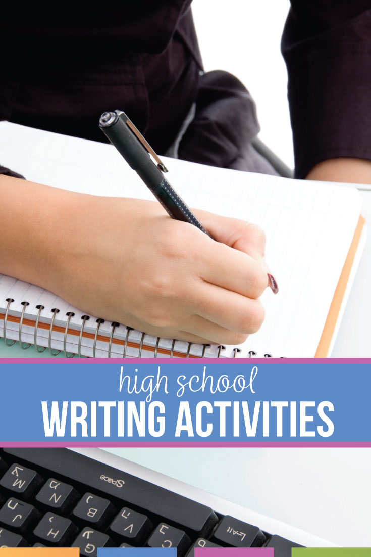 How can you create a writing unit for high school? A writing unit has activities and scaffolded practice.
