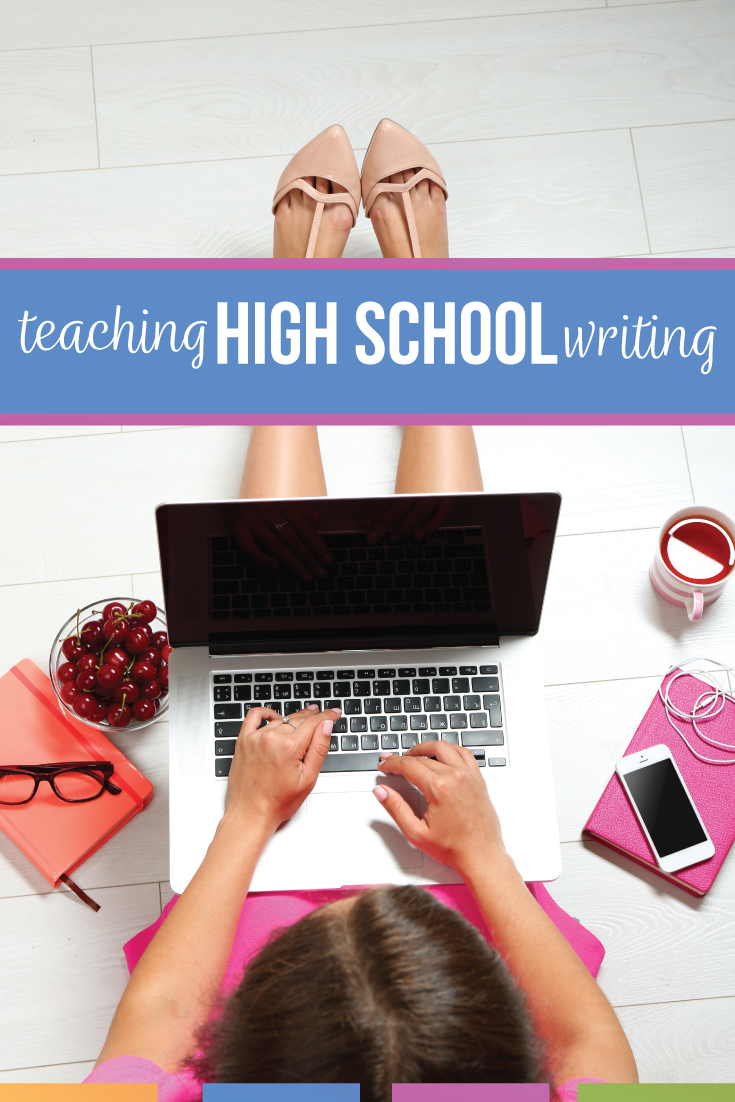 Teaching writing in high school can be a balancing act. Writing in high school requires patience and organization.