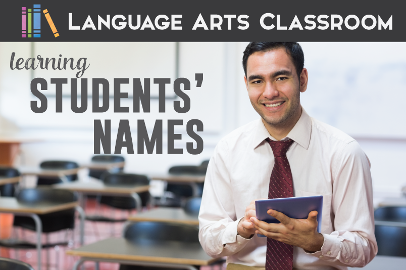 Learning students' names - not only are you building relationships, but you are also improving classroom management.