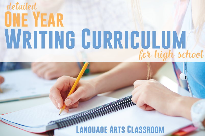 Creating a writing curriculum for high school students? Start with this free outline.