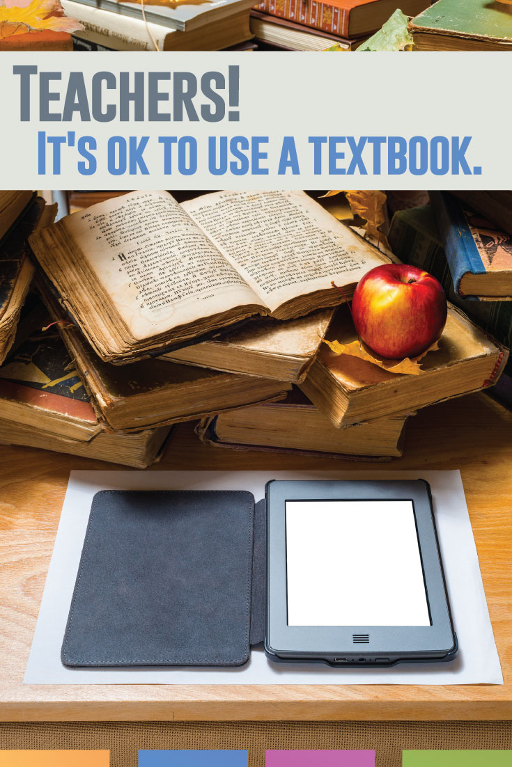 Do you use a textbook and its accompanying activities? I do too. Don't feel bad about it.