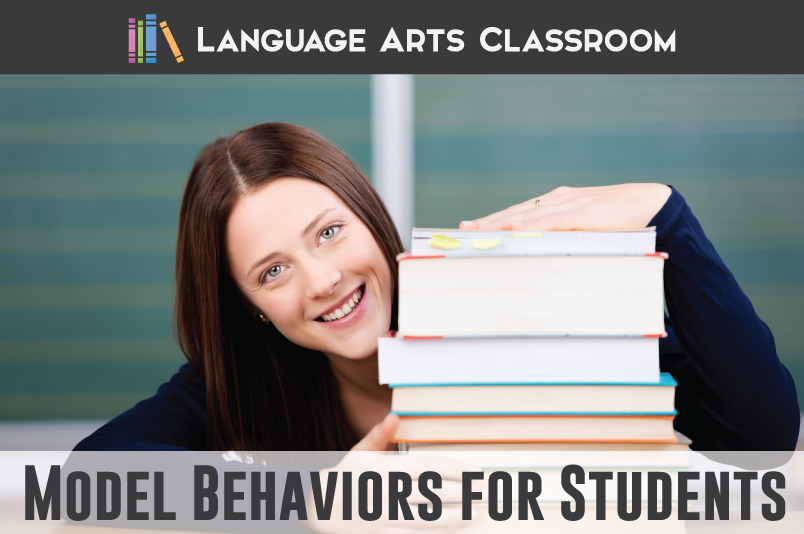 Model behaviors that your students should emulate! Follow these easy ideas to get students behaving as you wish.