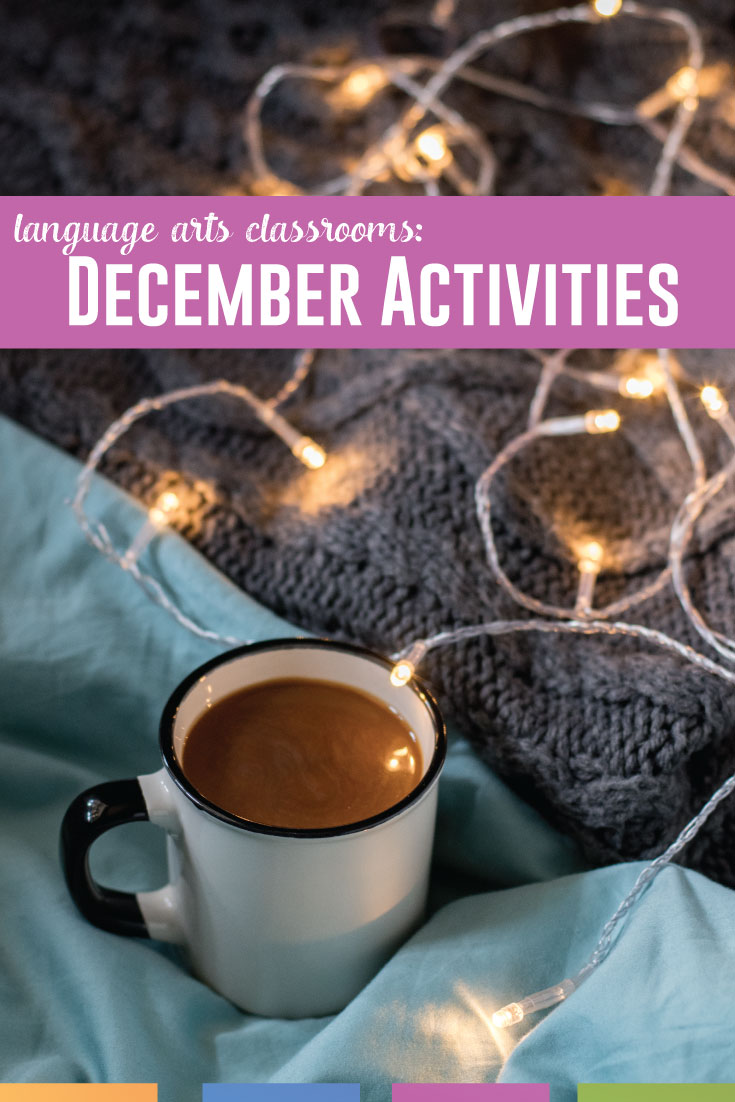 December lesson plans: how can you celebrate the season with older students? You can be inclusive and spread winter cheer. #HighSchoolELA #SecondaryELA #MiddleSchoolELA