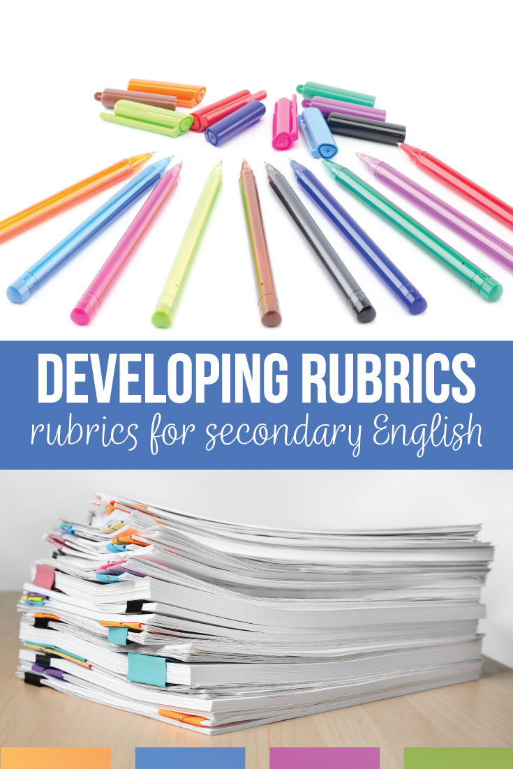 ELA teachers will create a language arts rubric for public speaking, writing, & reader responses. Creating a rubric well will help with any part of secondary English. ELA rubrics should be specific & purposeful with non-confusing rubric language that students will understand. Add sensible language arts rubrics to your secondary English class.