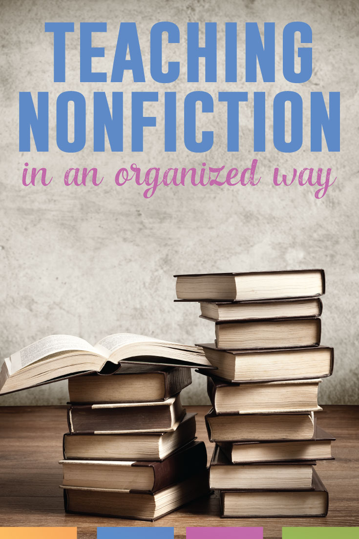 Teaching nonfiction? Do so in an organized way and watch students engage with the material in a meaningful way.