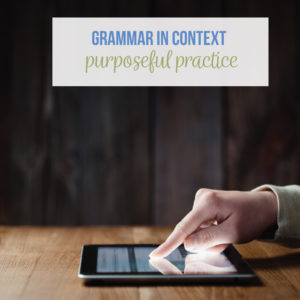 Purposefully add grammar to other portions of and ELA class.