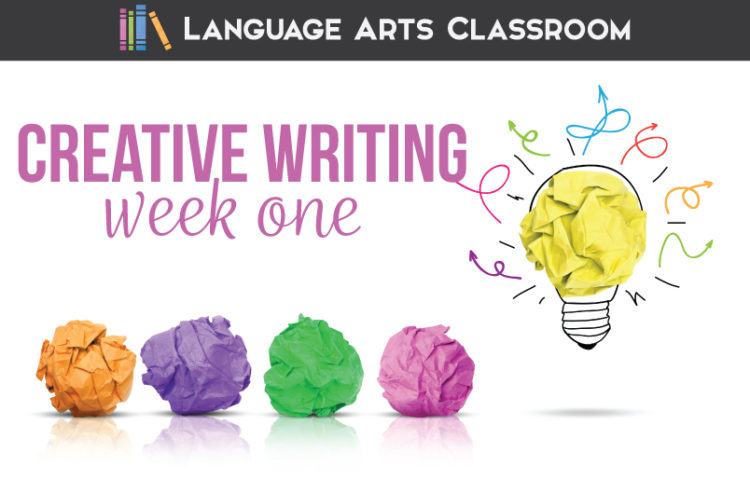 Week on of creative writing lesson plans: free lesson plan for creative writing. Creative writing lessons can be scaffolded.