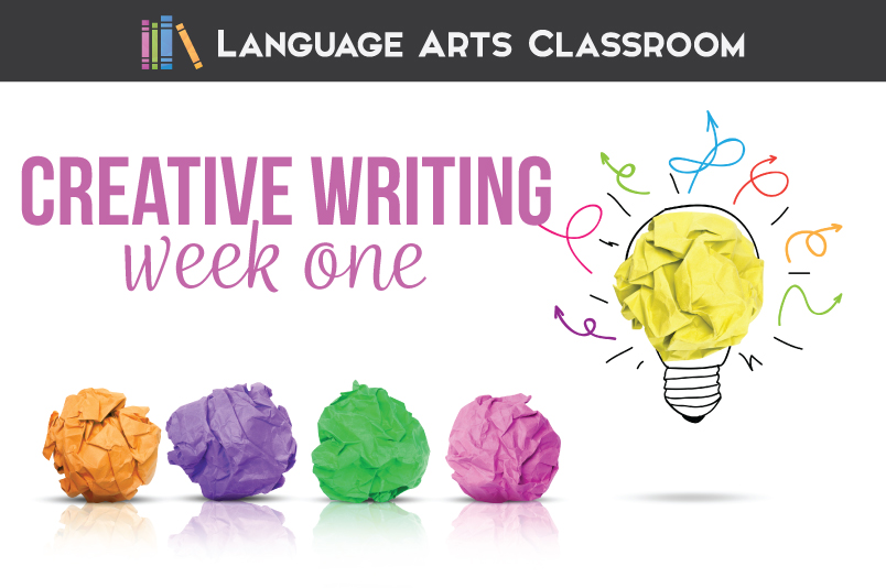 creative writing lesson plans middle school
