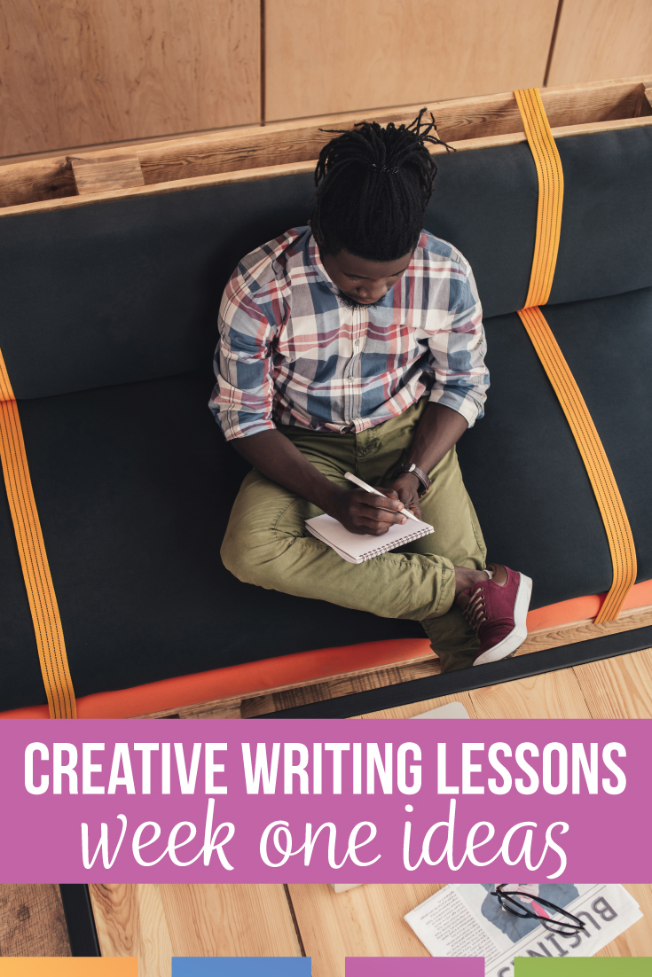 Lesson plan for creative writing: free creative writing lesson plans for week one of ELA class. Add creative writing activities to your high school language arts classes.