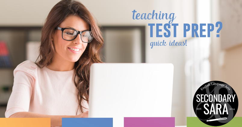 Teaching test prep? Getting students ready for standardized testing? Read these tips from an instructor.