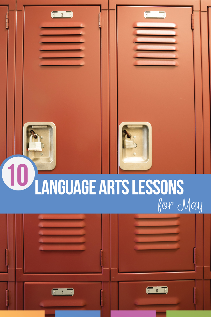 Language arts lesson plans for May should inspire students & provide closure. Middle school language arts lesson plans can encourage students to read during the summer.  High school language arts lesson plans can focus on reading as well as finding language arts topics in their lives or perhaps becoming activists.