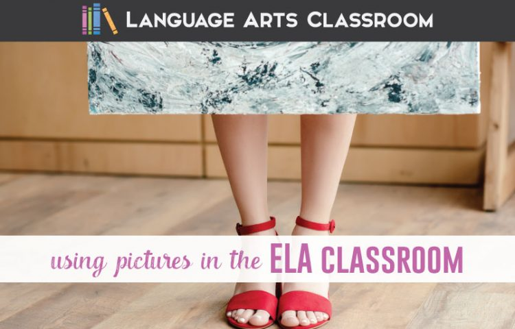 Using pictures in the classroom is a great tool for vocabulary or creative writing lessons. Here are ten ways to use pictures in the classroom. #ELAlessons #HighSchoolELA #MiddleSchoolELA