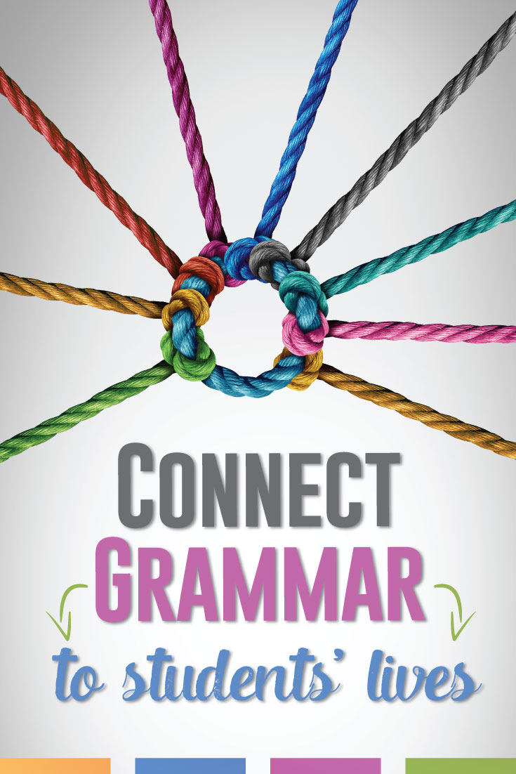 How can teachers show students that grammar matters? Try a few of these ways to connect grammar to ELA content and their lives. #GrammarLessons #HighSchoolELA