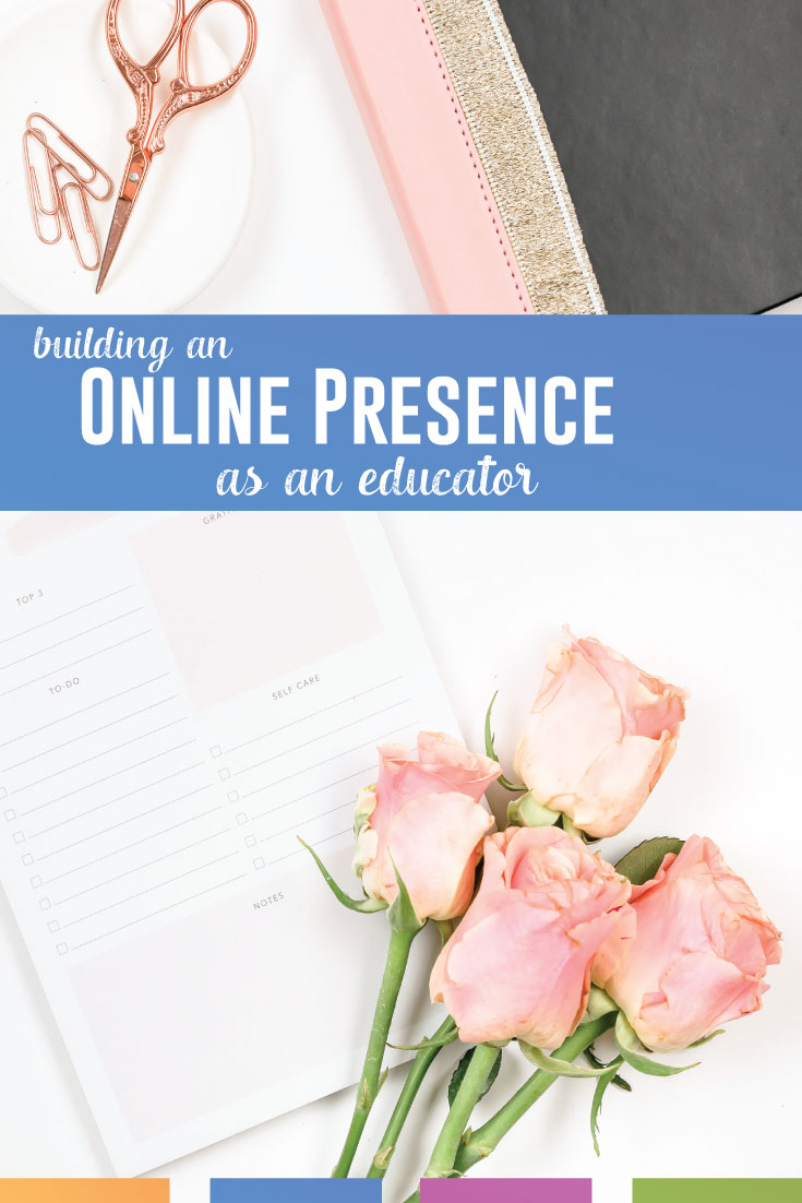Are you an educator online, collaborating with other teachers? Here are ways to build your professional learning network. #OnlinePD
