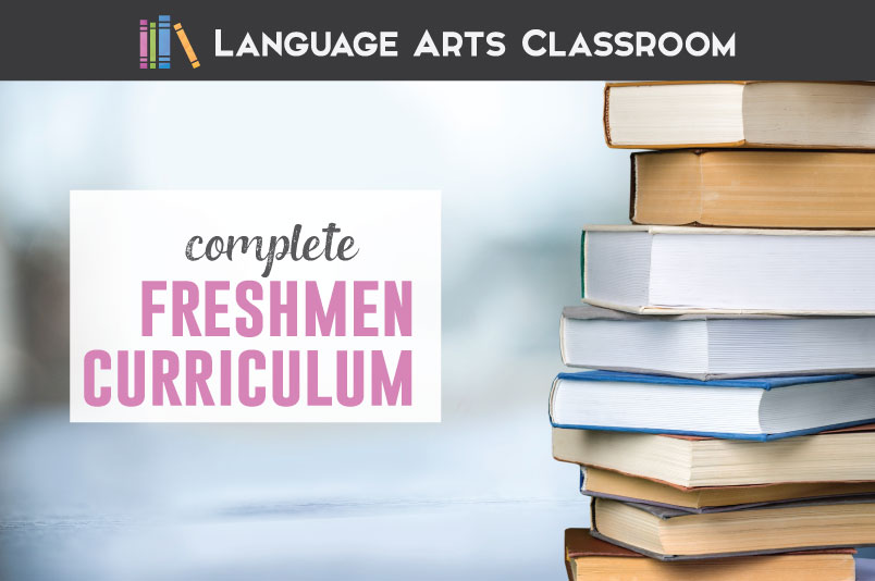 The complete freshmen language arts curriculum. This editable and free word document will provide everything you need for teaching freshmen English.