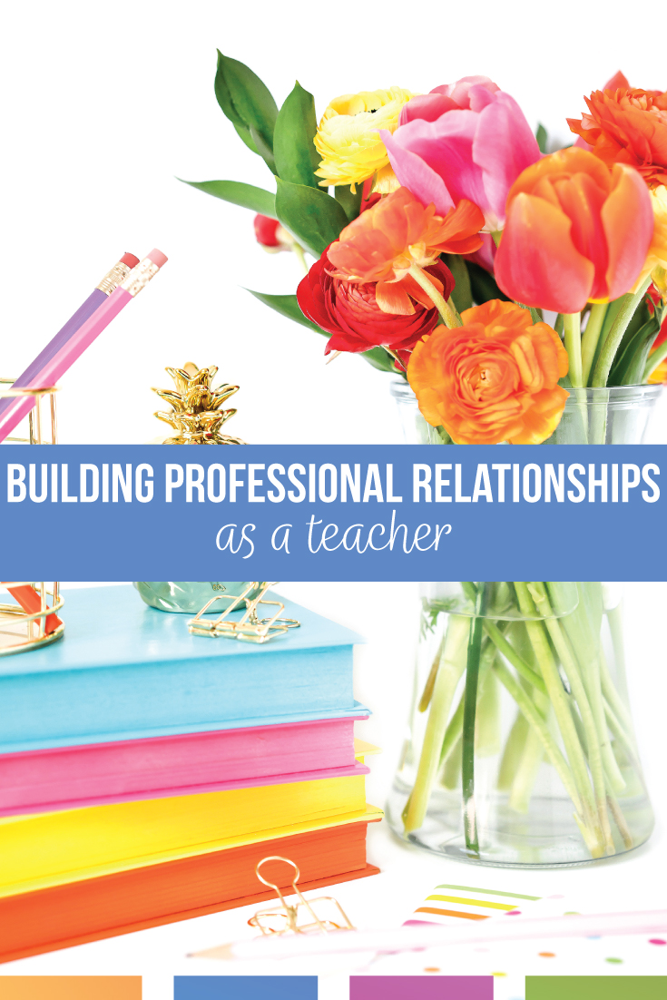 Building professional relationships as a teacher is an important part of the job. Your coworkers as a teacher will help you develop your teaching career and daily interactions. Working in a school takes considerations you may not at first realize.
