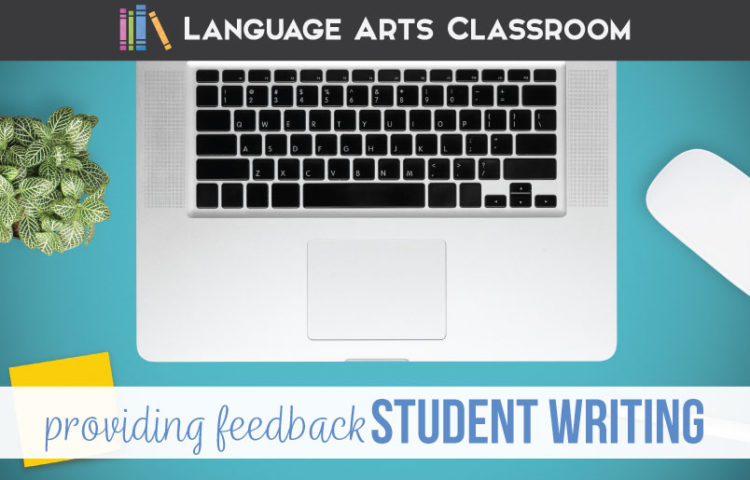Feedback for student writing can improve student teacher relationships and improve writing.