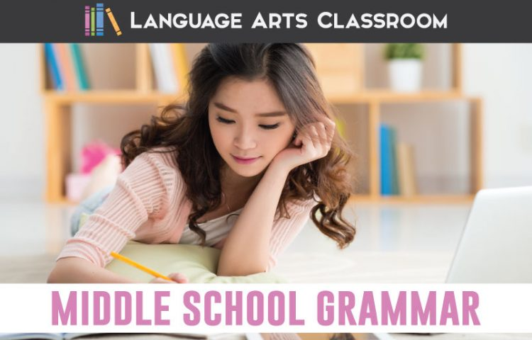 Make middle school grammar lessons powerful with these ideas. Add POP to a grammar lesson by showing students the power of language. #GrammarLessons #MiddleSchoolELA