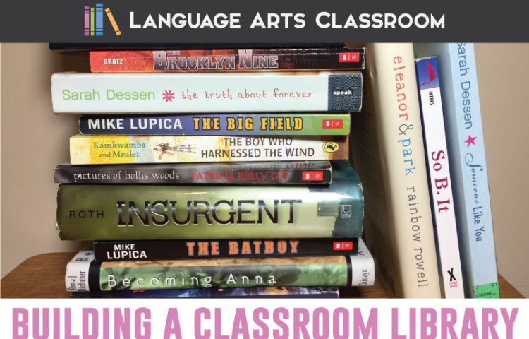 Building a classroom library inexpensively? Teachers can find cheap books! Read how I found young adult literature for my secondary classroom. #ClassroomLibrary #YoungAdultLiterature