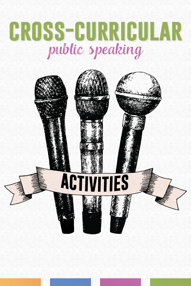 Implementing public speaking with students? These speech activities will work across grade levels and subjects. Public speaking with meaning! #PublicSpeakingLessons #HighSchoolELA