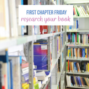 After you choose a book for First Chapter Friday, research a bit about the author and book. Be sure the book will work in your community.