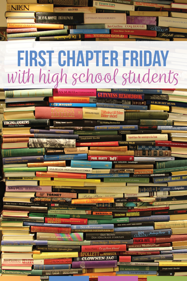 Try a First Chapter Friday with your high school students! Students love being read to by a teacher, and they will experience different genres, authors, narrators, and more. #HighSchoolELA #FirstChapterFriday