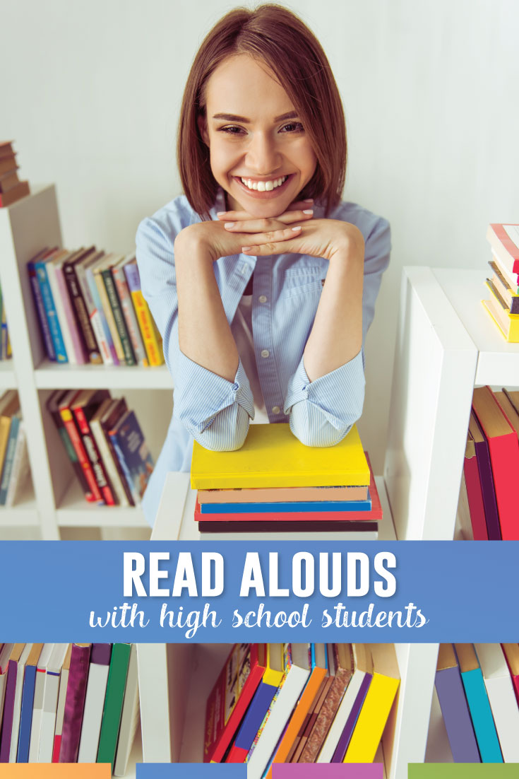 Have you attempted read alouds with high school students? I have had great success, and these are the discussions that students and I have. #HighSchoolELA