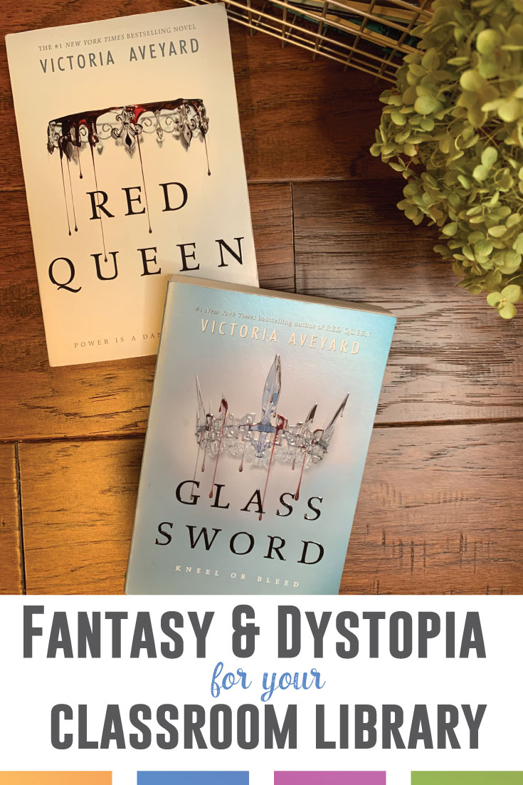 Do you use Red Queen in your secondary classroom? Students will read this series by Victoria Aveyard. Here are teaching ideas for high school ELA classes. #HighSchoolELA #RedQueen