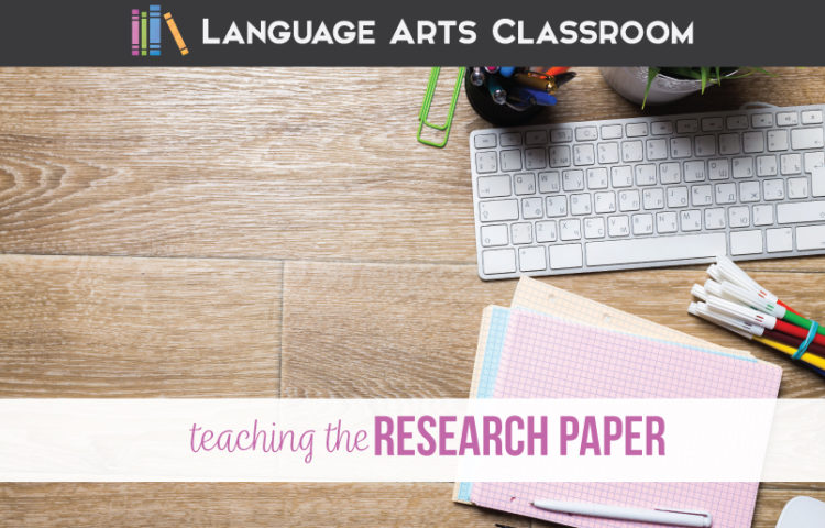 Teaching research papers with high school students? Here are guidelines to make this writing unit a success. Teaching the research paper requires various tools.