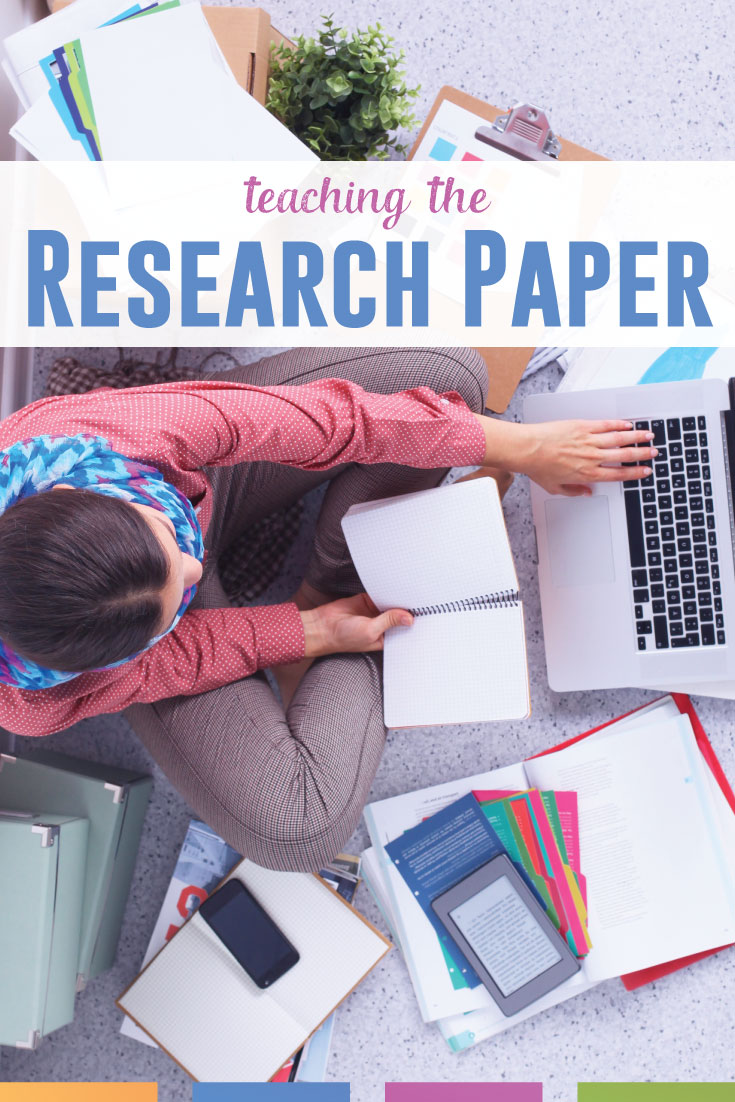 Teaching research papers with high school students? Here are guidelines to make this writing unit a success. #HighSchoolELA #WritingLessons
