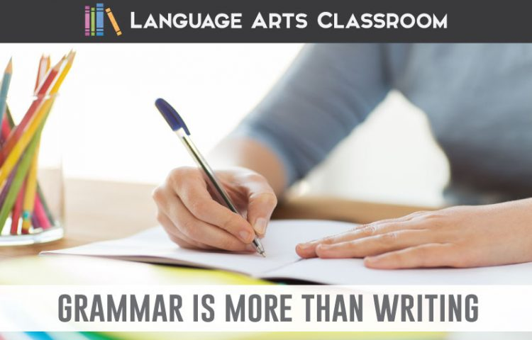 Teach grammar beyond identification: boost student learning and understanding with analytical practice. Add these simple ideas to your grammar lessons. #HighSchoolELA #GrammarLessons