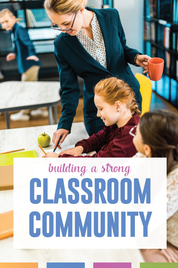Building a classroom community helps with behavior management and student learning. Read these ten tips for building a positive classroom community. #ClassroomCommunity #ClassroomManagement