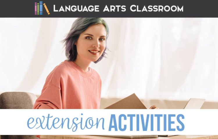 Language arts extension activities can engage English classes. ELA extension activities move students toward literary analysis.