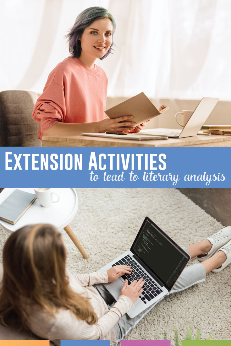 TWENTY-FIVE extension activities for any piece of literature: add these literary analysis activities to your ELA lesson plans.