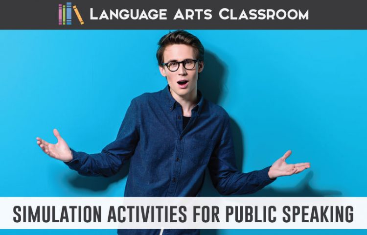 Simulations for speech class: activities that will build student buy-in and engage reluctant speakers. Try these activities in your public speaking class. #PublicSpeaking #SpeechClass
