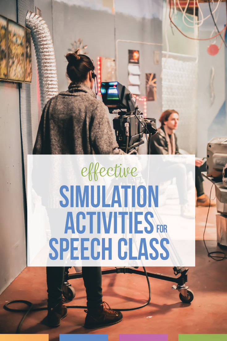Simulations in speech class needn't cost a ton of money or teacher time. Engage your speech class with authentic portrayals of famous speakers or potential speeches they'll give in life. Speech class activities can engage high school language arts classes. Add these ideas for speech class to your public speaking unit.