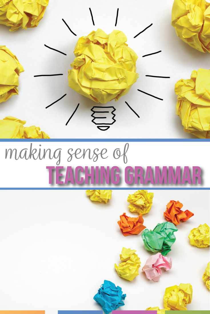 Grammar must be taught, differently. Grammar worksheets & grammar lectures will not engage students or connect grammar to writing. For best practice for teaching grammar, use a variety of activities, connect language to students' lives, & explayin why teach grammar. Elevate students understanding of language with grammar lessons & grammar activities that are meaningful to secondary students. Middle school ELA & high schoool ELA grammar lessons: download free grammar activities & grammar lessons.